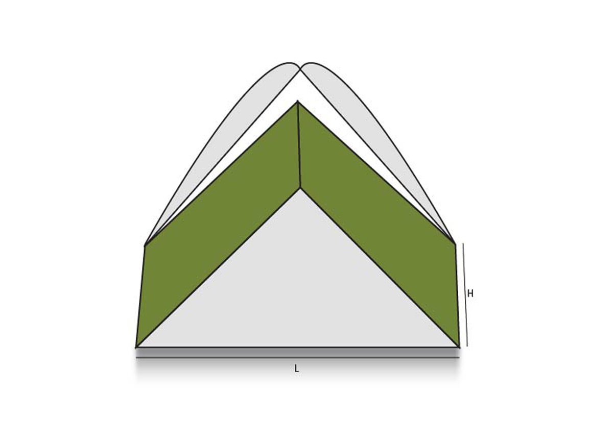 Triangular Tray Lid