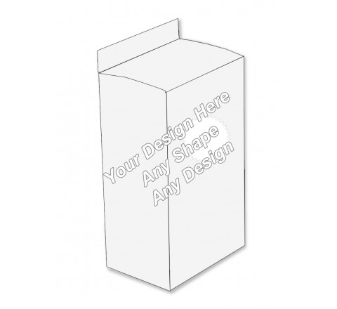 Die Cut - Lotion Packaging Boxes