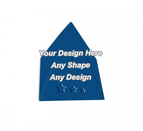 Embossed - Pyramid Shape Boxes