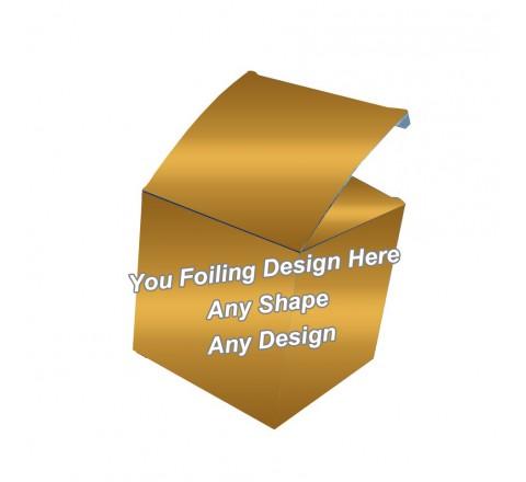 Golden Foiling - Cube Boxes