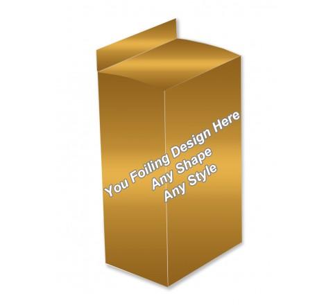 Golden Foiling - Five Panel Hanger Boxes