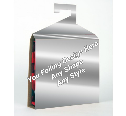 Silver Foiling - Shirt Packaging Box