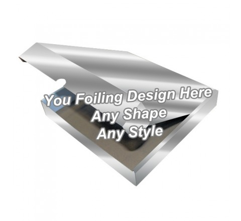 Silver Foiling - Flap Packaging Boxes